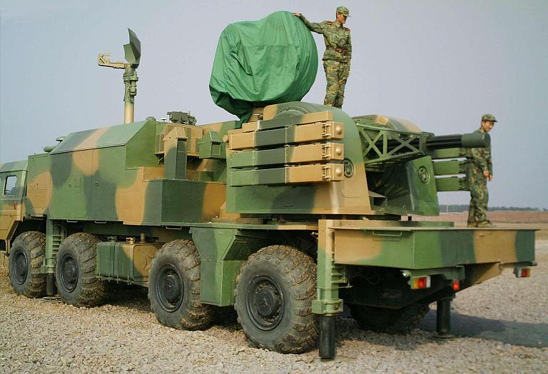 LD-2000 menjadi salah satu kekuatan Arhanud AD Tiongkok.
