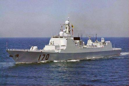 Perusak Kawal Rudal AL Tiongkok kelas Luyang II