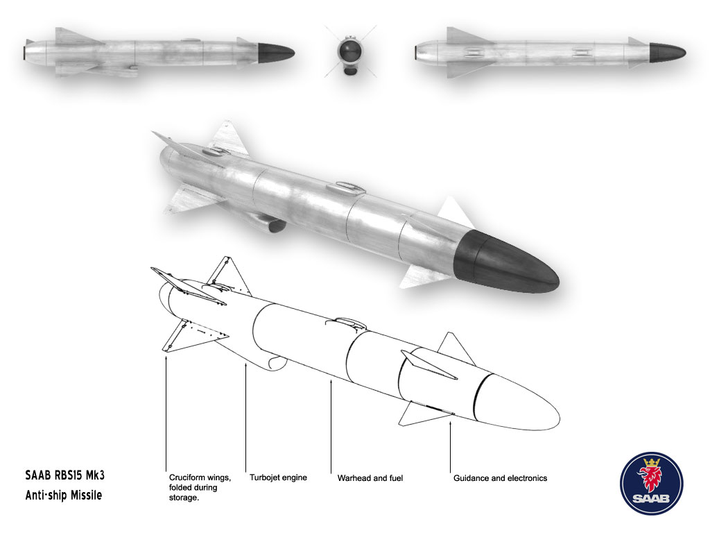 Rudal anti kapal RBS-15 MK3