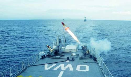 Beberapa kali Seacat difungsikan sebagai target untuk penembakan rudal hanud yang baru.