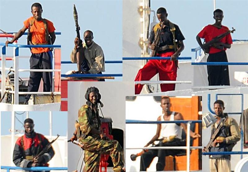 RPG-7 juga menjadi senjata andalan bagi para perompak Somalia.