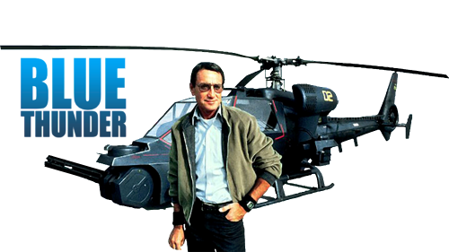 Roy Scheider, aktor film Blue Thunder.