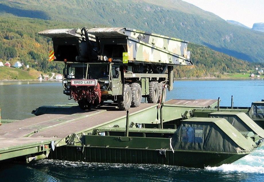 MAN KAT1 LEGUAN MLC70 milik AD Norwegia.