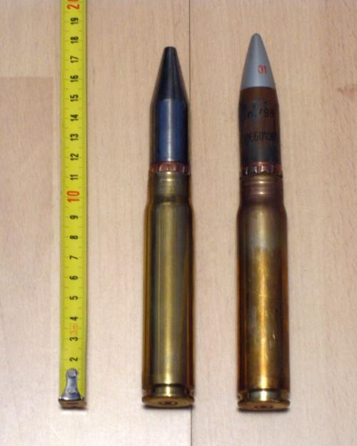 Amunisi kaliber 20 mm NTW-20