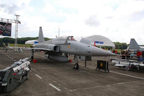 F-5 E Tiger II AU Singapura
