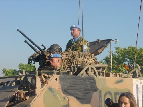 M113 Australia dalam misi INTERFET, tetap mengandalkan SMB 12,7 mm dengan model kubah.
