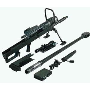 Komponen senjata dapat diurai.
