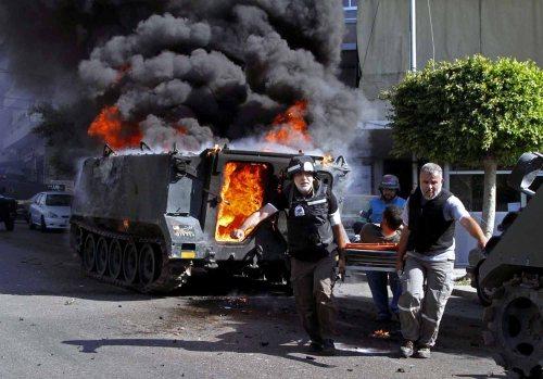 Jadi bulan-bulanan dalam Perang di Lebanon.