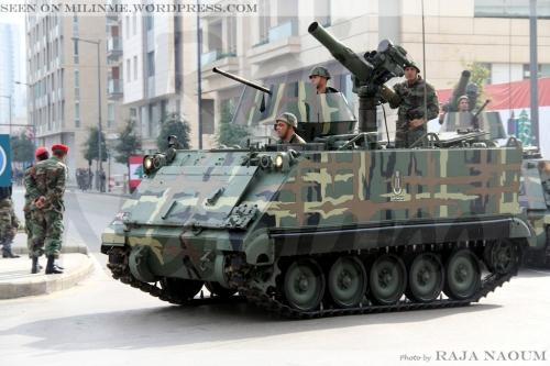 M113 Lebanon dilengkapi rudal anti tank TOW