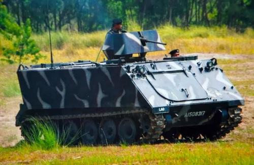M113 menjadi salah satu APC roda rantai yang paling laris di pasaran.