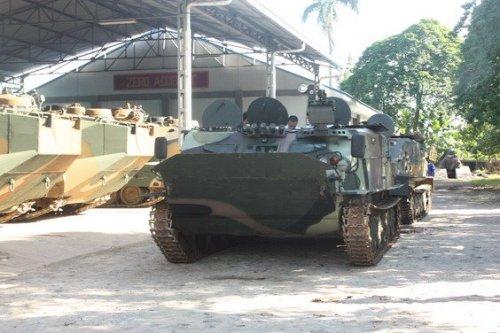 BTR-50 dengan bekal RCWS.