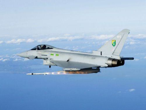 Eurofighter Tyhphoon RAF
