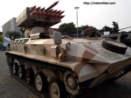 Pada platform tank ringan SBS Pindad