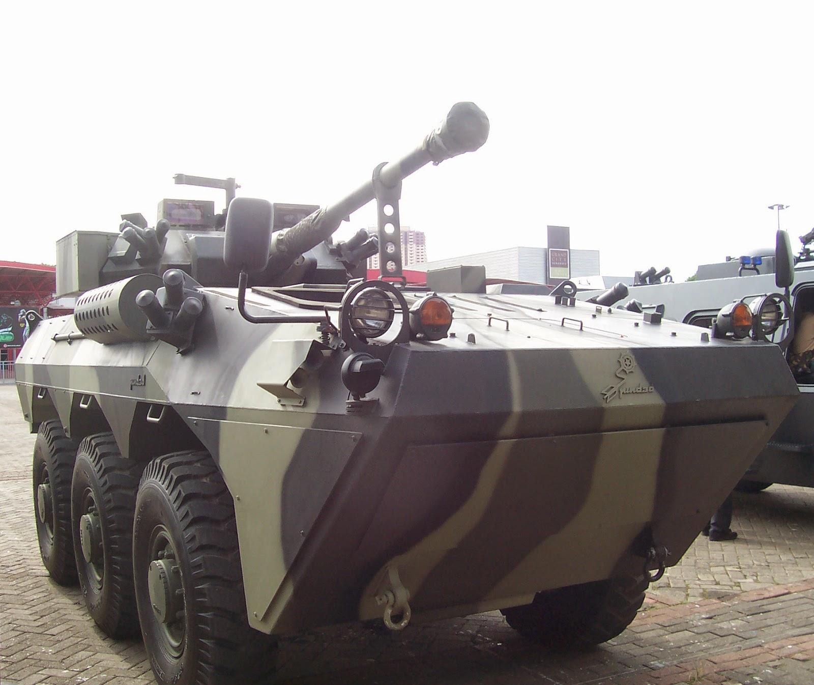 Anoa 6x6 versi kanon.