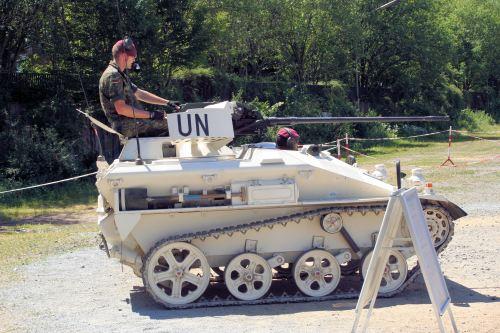 Varian kanon pada Wiesel 1 dipercaya untuk misi pasukan PBB.