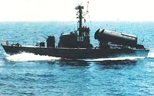 Komar Class milik AL Mesir.