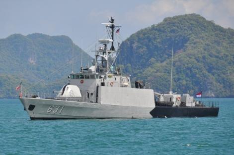 KRI Todak dengan nomer lambung baru (631) sebagai armada Satkat TNI AL.