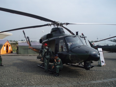 Tampil di Pameran Alutsista TNI AD 2013