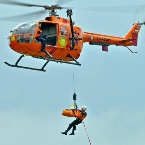 Sebelum Dauphin, BASARNAS lebih dulu menggunakan helikopter NBO-105. Operasional heli ini dilakukan oleh pihak TNI AU.