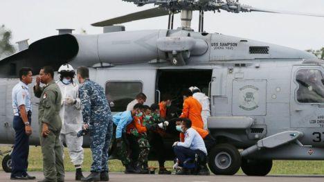 Seahawk SH60 di Lanud Iskandar, Pangkalan Bun.