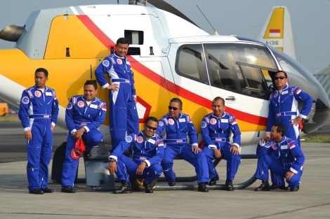 Tim Aerobatik Dynamic Pegasus TNI AU