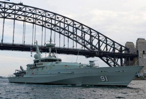 HMAS Bundaberg 91