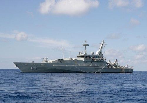 HMAS Armidale 83