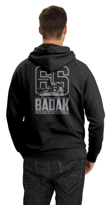 Badak Hoodie - Back
