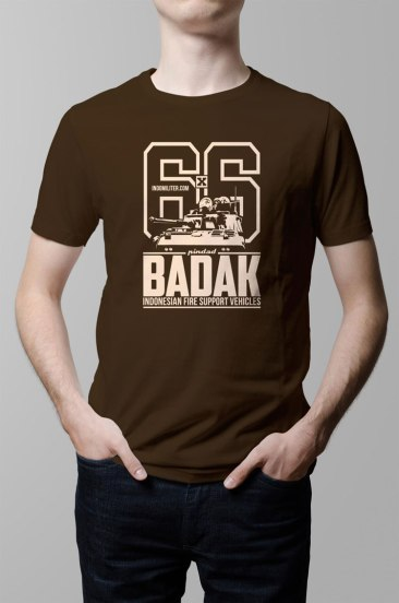 Badak Shirt (Brown) - KPBP012BR
