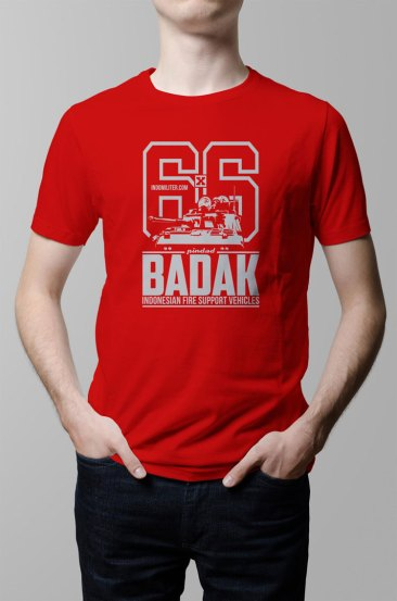 Badak Shirt (Red) - KPBP012RD