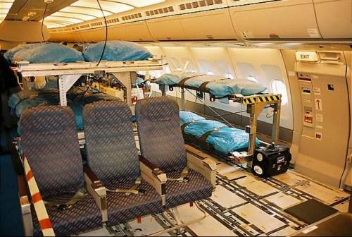 Konfigurasi Medevac pada A330 MRTT.