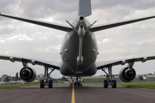 Tail boom di Airbus A330 MRTT.