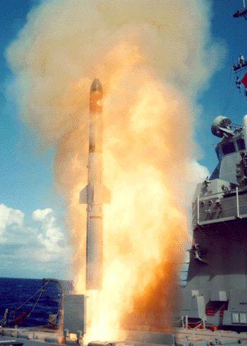 rudal anti kapal selam RUM-139 VL-Asroc
