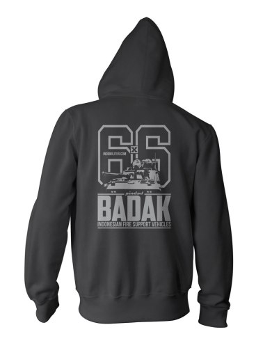 Badak Zipper - Back
