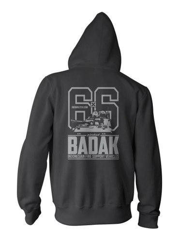 Badak Zipper - Back