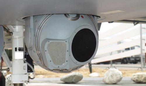 FLIR menjadi salah satu payload wajib Heron.