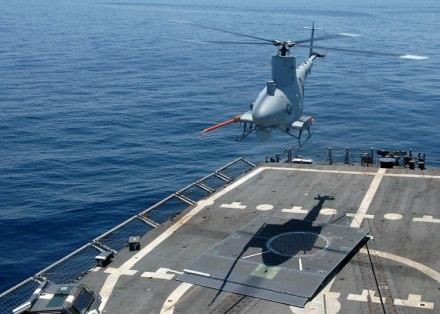 MQ8 Fire Scout, kini jadi andalan US Navy.